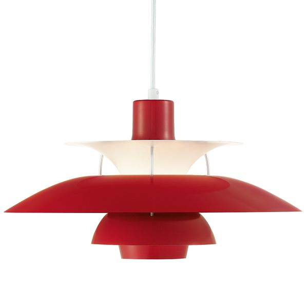 Louis Poulsen commemorated the 50th anniversary of the classic PH 5 pendant by introducing PH 50, a special version of the famous fixture, a bright spot in your interior design. This new version of the renowned design classic comes now in five different colours: olive black, chili red, coconut white, mint blue and wasabi green.