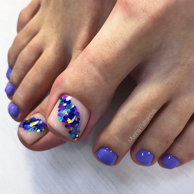 Over 50 Fun Toe Nail Designs To Go Crazy Over Naildesignsjournal Com Summer Toe Nails Pretty Toe Nails Toe Nail Color