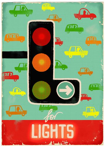 L for Lights  by Paul Thurlby,