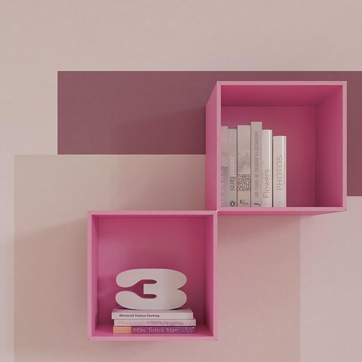 """#Arredamento #Cameretta Moretti Compact: Collezione 2012 """"Team"""" > Kids >> kc25 #mensole http://www.moretticompact.it/kids.htm"""