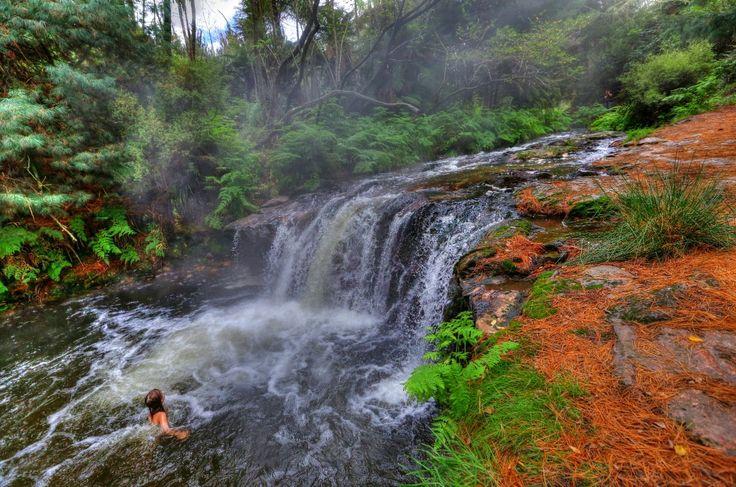 Kerosene Creek Hot Pool - Rotorua
