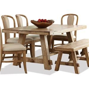 Ridgedale Trestle Dining Table I Riverside Furniture