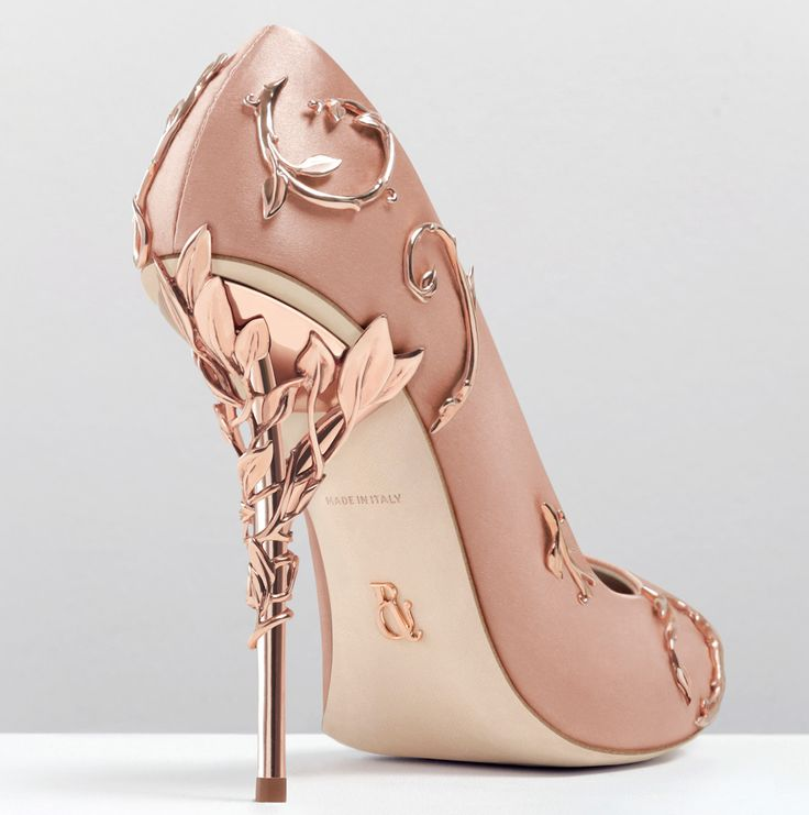 Ralph & Russo's Baroque Pump, Eden Heel Pump, and Eden Pump.