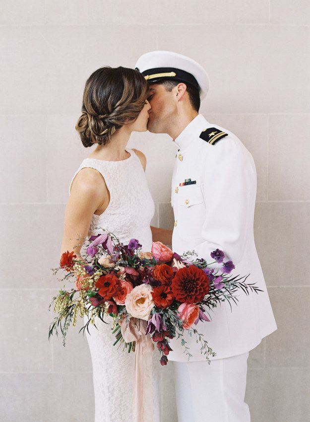 Pretty Much Everything About This Military Wedding.
