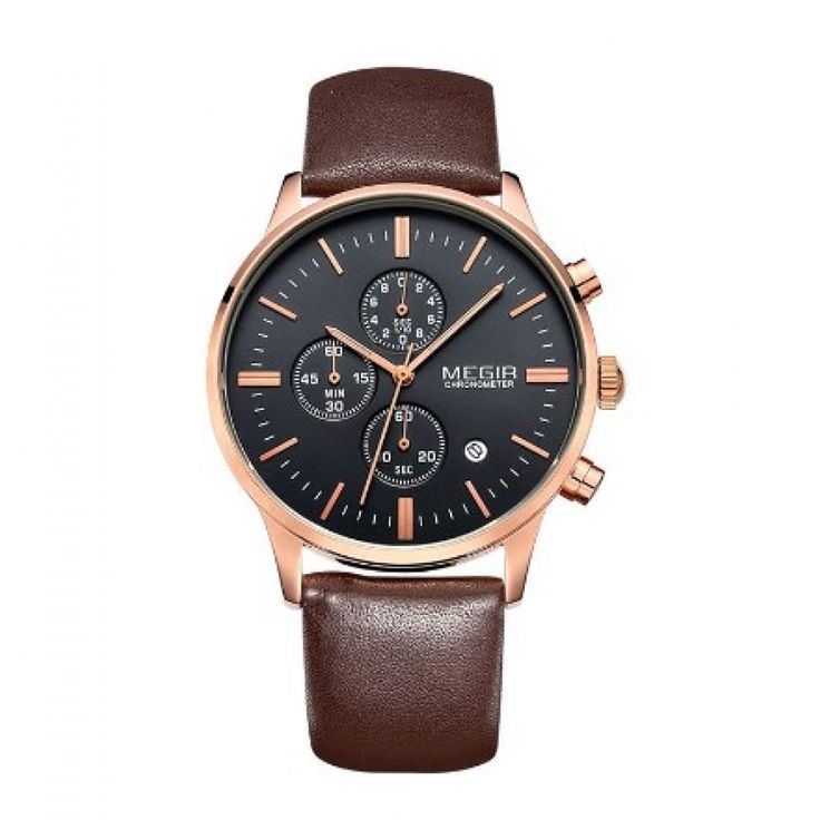Do you like this? Invest in your appearance now!...Price: 36.99 & FREE Shipping Worldwide...Get yours --> https://www.merqeen.com/megir-wrist-watch-for-men-with-genuine-leather-strap-water-resistance/ #watches #affordableluxury #fashionwatches #mensstyle #mensaccessories #luxurylife