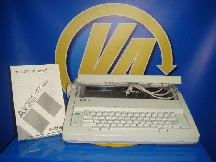Maquina de escribir electrica BROTHER model AX 210 MUY BUEN ESTADO