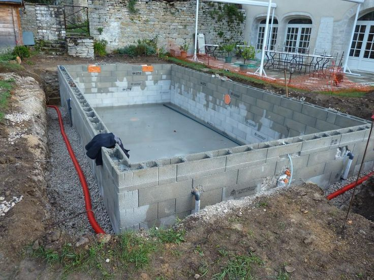 Best 25 piscine hors sol beton ideas on pinterest for Bassin piscine beton