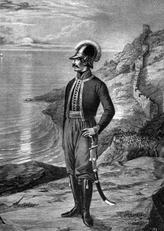 """The Greek Battalion of Balaklava was a military unit of the Imperial Russian Army which participated in the Russo-Turkish wars of 1768–1774, 1787–1792 and 1806–1812. It was consisting of Greek expatriates who were living in the Balaklava area.[1]  Initially the battalion was named """"Greek Infantry Regiment"""" and in 1797 was renamed to """"Greek Balaklava Battalion"""". Its Greek soldiers were from the Peloponnese, the Aegean islands, the Ionian Islands and the Venetian dominions in Albania. They…"""