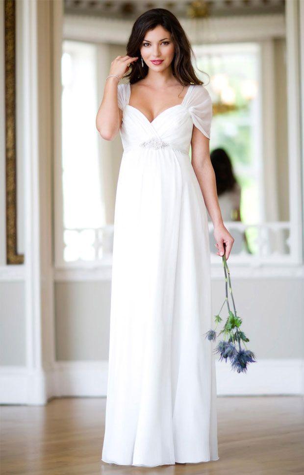 Wie wählt man Mutterschaft Brautkleider   Свадебные платья   Pinterest