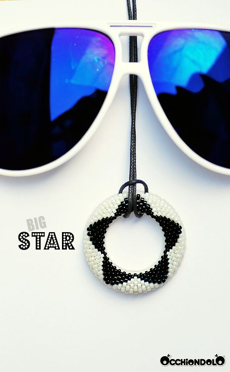 #spec-holder #necklace Occhiondolo Big #Star