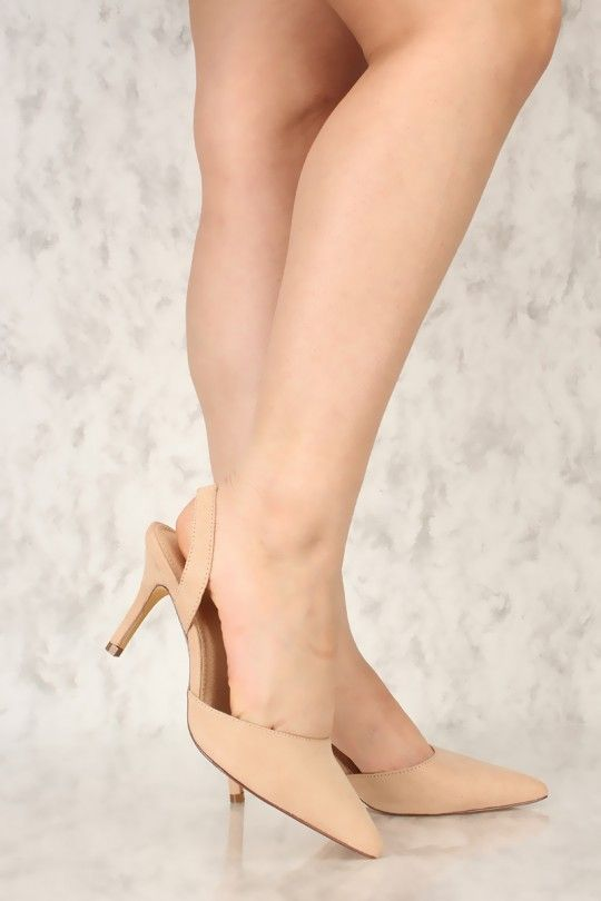 f0749c219c98 These heels are the perfect go to for a casual night out with the girls!  Featuring  faux suede