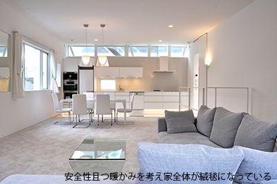 大きな空間構成とドイツ製品の家 | 東京組