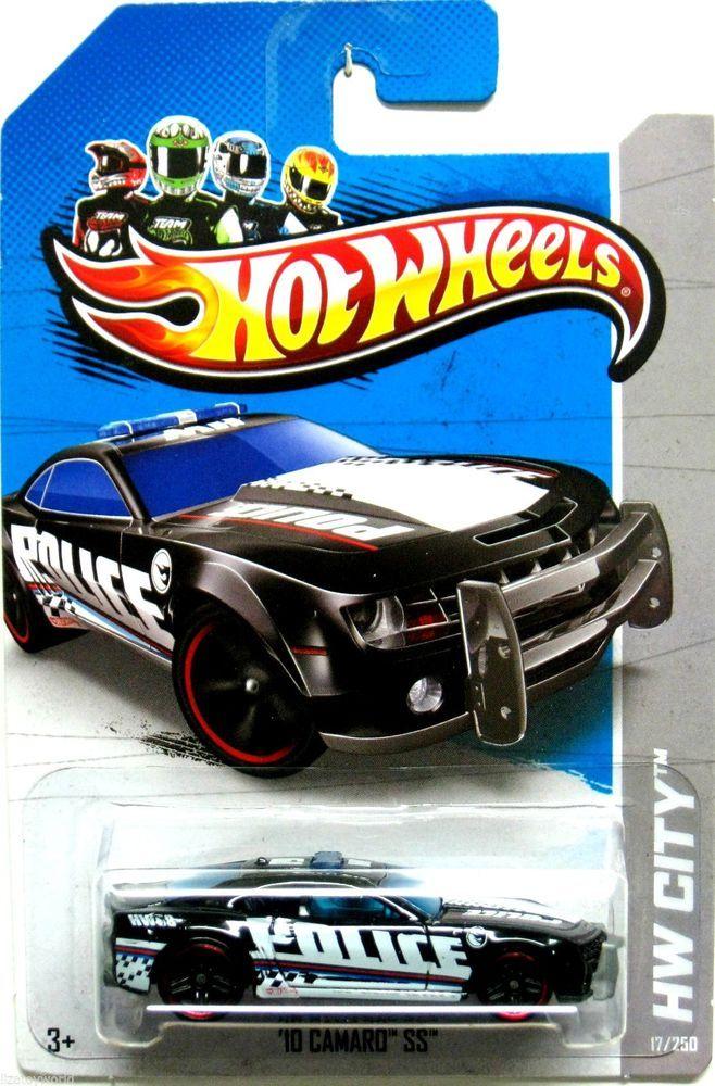 Hot Wheels 2013 Treasure Hunt 2010 Chevy Camaro SS Police Car HW City #17/250 #HotWheels #Chevrolet