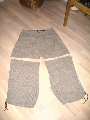 bukser syet om til nederdel