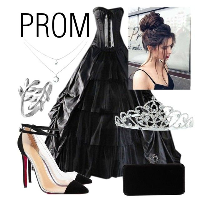 """-indy- // prom"" by indiravidya on Polyvore featuring Swarovski, Belk Silverworks and Kate Marie"