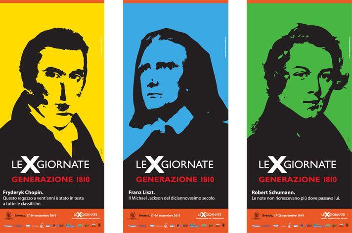 """Campagna di comunicazione per l'evento """"Le X giornate di Bresca"""" dell'anno 2010."""