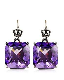 gorgeous purple earrings....