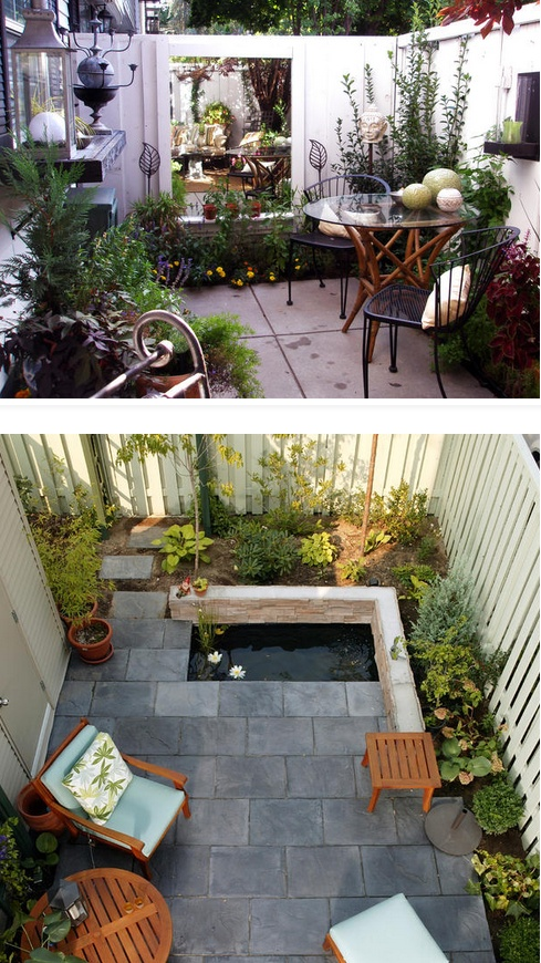 The wonderful thing about courtyards is they can become the most intimate space for two or a beautiful, lush, entertaining area.