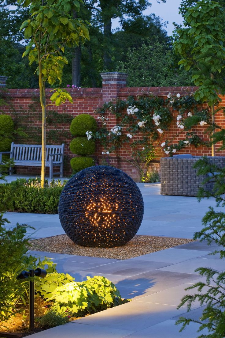 Contemporary Garden Sculpture by David Harber