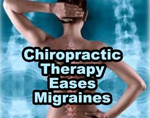 Chiropractic Therapy Eases Migraines  COLE FAMILY PRACTICE OF DYERSBURG http://www.colechiropracticclinic.com/