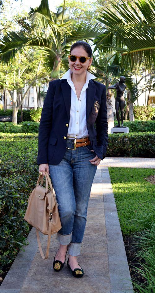 Schöner, klassischer Look - aber mit Pepp! (Quelle: Susana Fernandez | A Key to the Armoire)