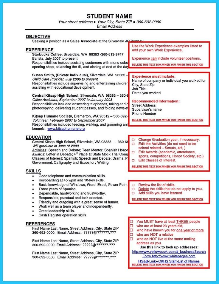 Pizza Delivery Resume Glamorous 119 Best Resume Examples Images On Pinterest