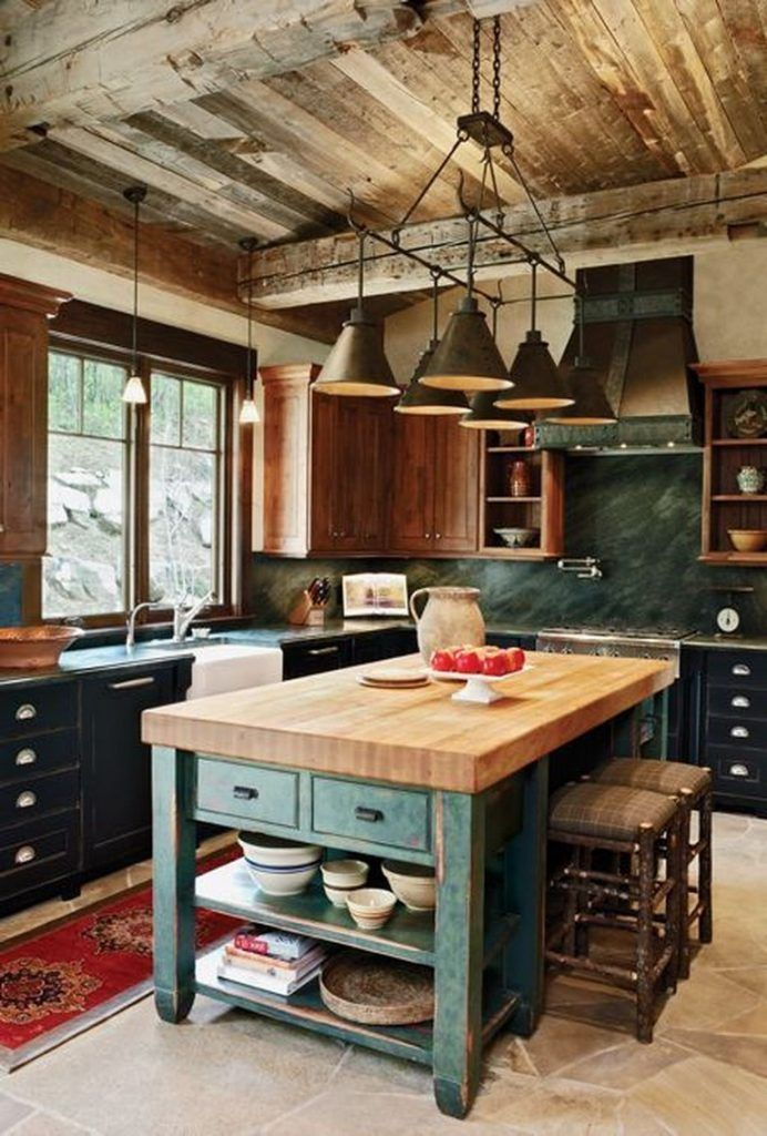 28 The Top Rustic Country Home Decor Ideas In 2020 Country Kitchen Designs Rustic Country Kitchens Kitchen Plans