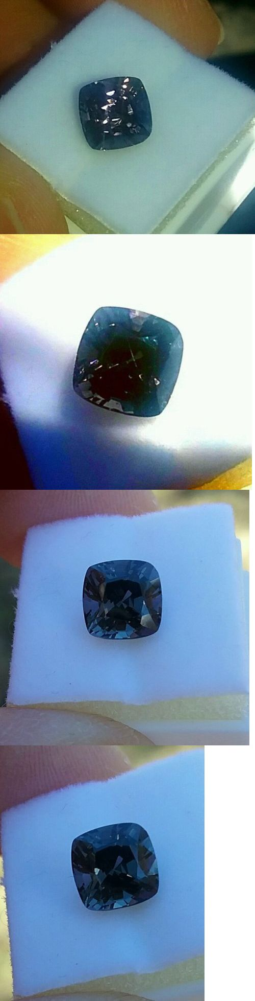 Spinel 110873: 2.35Ct.Purple Silver Spinel Namya S.E Asia Stunner Flawless Cushion -> BUY IT NOW ONLY: $175 on eBay!