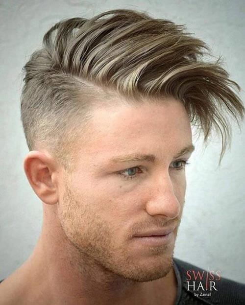 Perfect 32 Gallant Hairstyles For Men With Receding Hairlines
