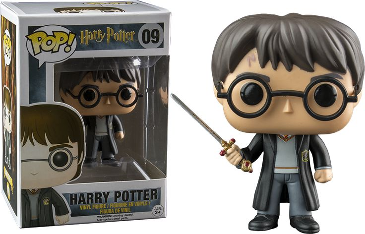 Pop! Vinyl # 09 Harry Potter - Harry Potter with the Sword of Gryffindor