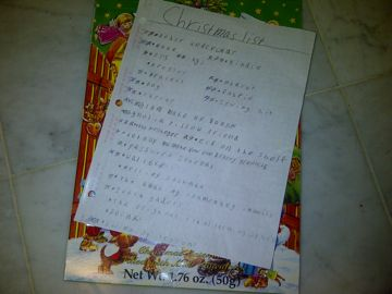 letters to #Santa   #holidays