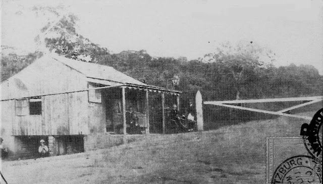 Toll Booth top of the Berea Durban 1850's