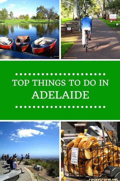 A Guide to the Top Things to do in Adelaide and its surroundings.
