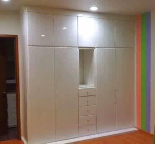 Cl set en blanco recamara infantiles ideas y tips for Ideas para puertas de closet