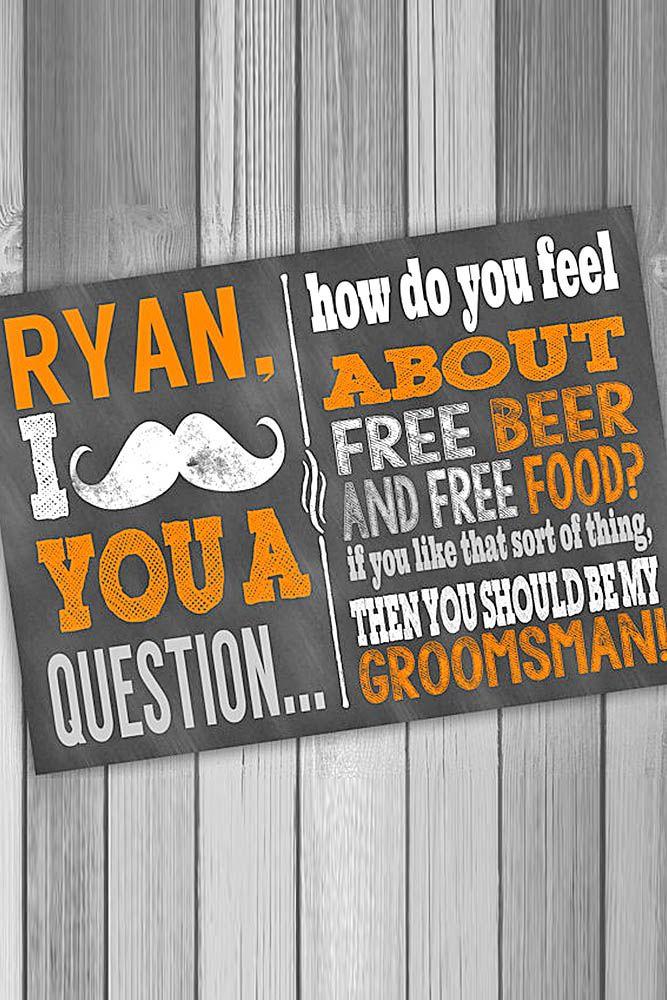 16 best groomsman invitation ideas images on groomsman