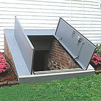 Elegant Basement Storm Shelter Door