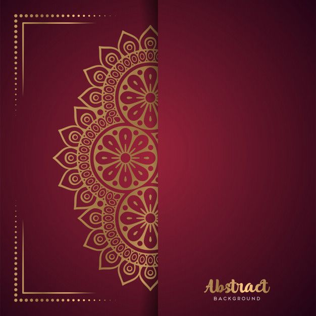 Download Vector Indian Mandala For Free In 2021 Hindu Wedding Cards Wedding Card Design Indian Wedding Card Templates