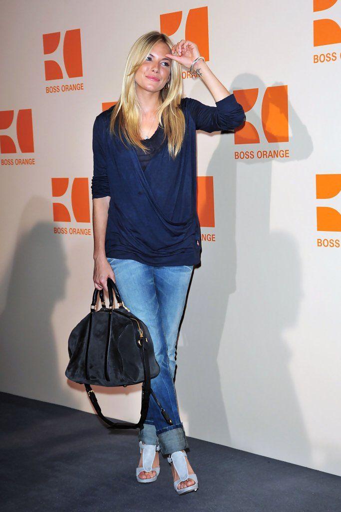 Sienna Miller - Hugo Boss Orange Fashion Show - Berlin Fashion Week 2009