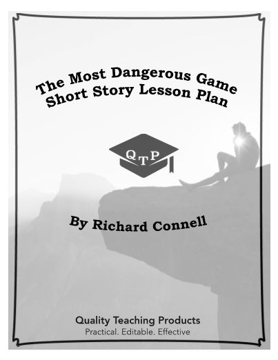 lesson plan the most dangerous game by richard The most dangerous game - richard connell's original masterpiece - kindle  edition by richard connell download it  a lesson in how to keep a story  moving.