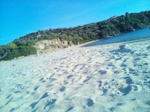 Παραλία Αλυκών (Alykes Beach) in Αμμουλιανή, Χαλκιδική