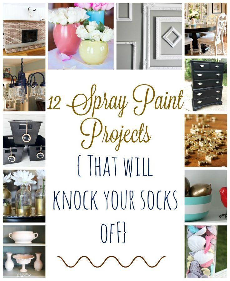 Spray paint makeovers to make you go wow spray painting for Spray paint makeovers