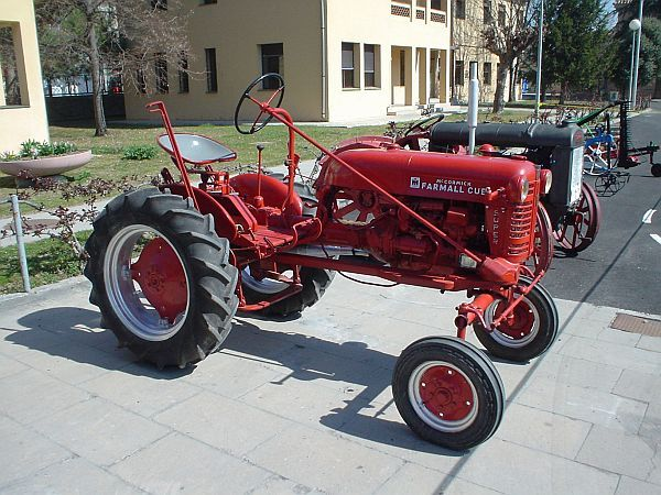 Vintage International Harvester Farmall Tractor