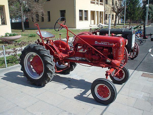 Vintage International Harvester Farmall Tractor