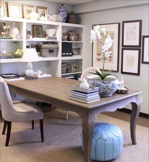 Cool And Charm Feminine Home Office Ideas Kbhome Sanantonio