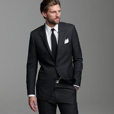 sleek slim tux for prom