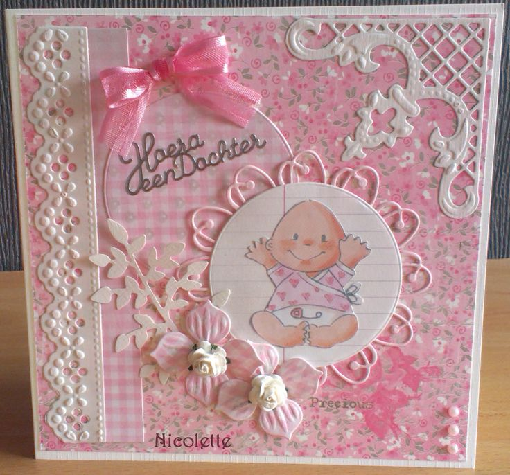 Babykaart meisje