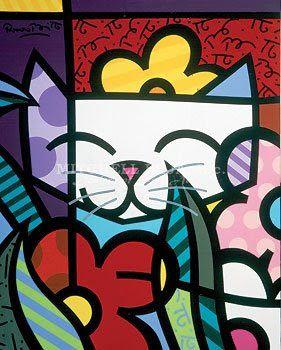 Britto cat