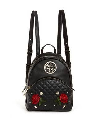 Ryann Embroidered Rose Backpack  07d239c433c37