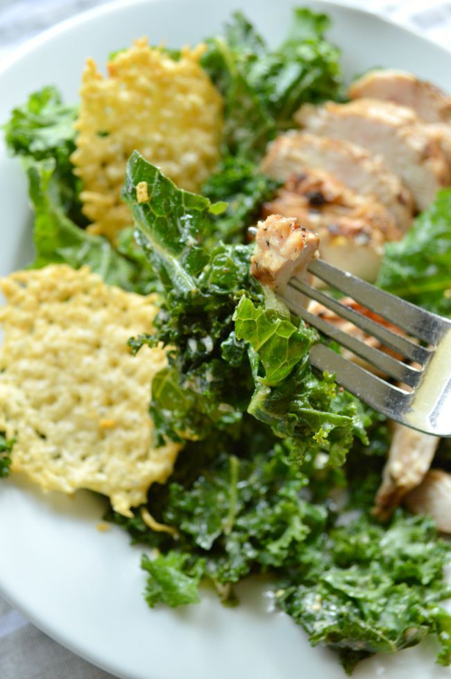 This healthy recipe is one we make often! You'll love how easily you can make this Power Kale Caesar Salad at home in less than 30 minutes.