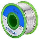 Mudder Lead Free Solder Wire Sn99 Ag0.3 Cu0.7 with Rosin Core for Electrical Soldering 100g (0.6 mm)